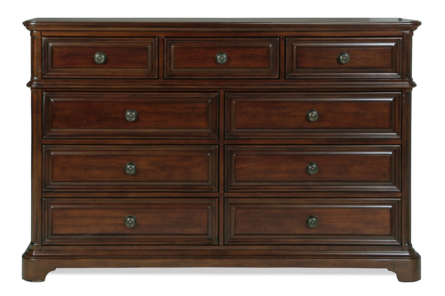 Huntington Dresser - Brown Cherry