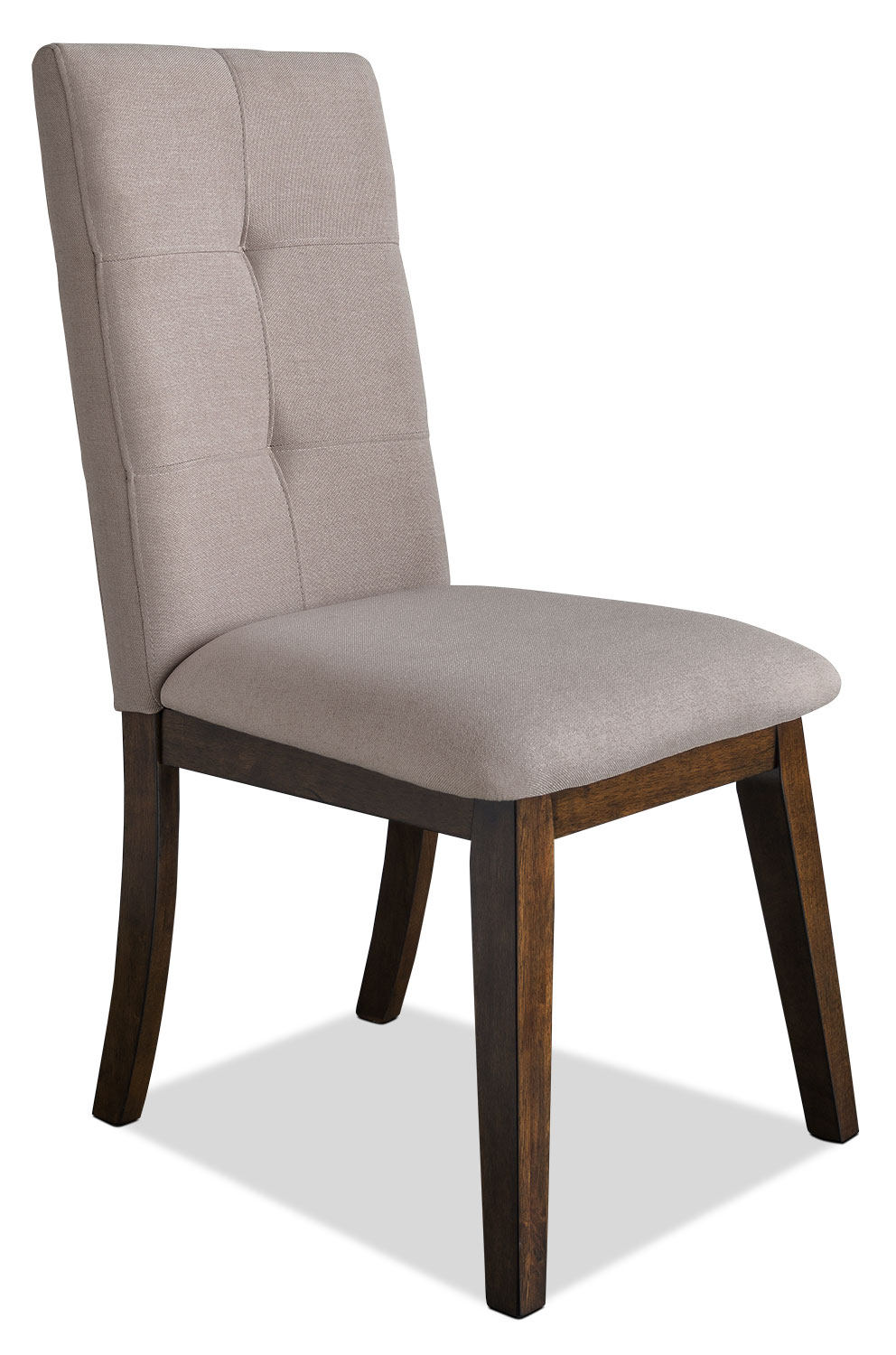 Chelsea fabric dining chair beige united furniture for Fabric chairs dining room