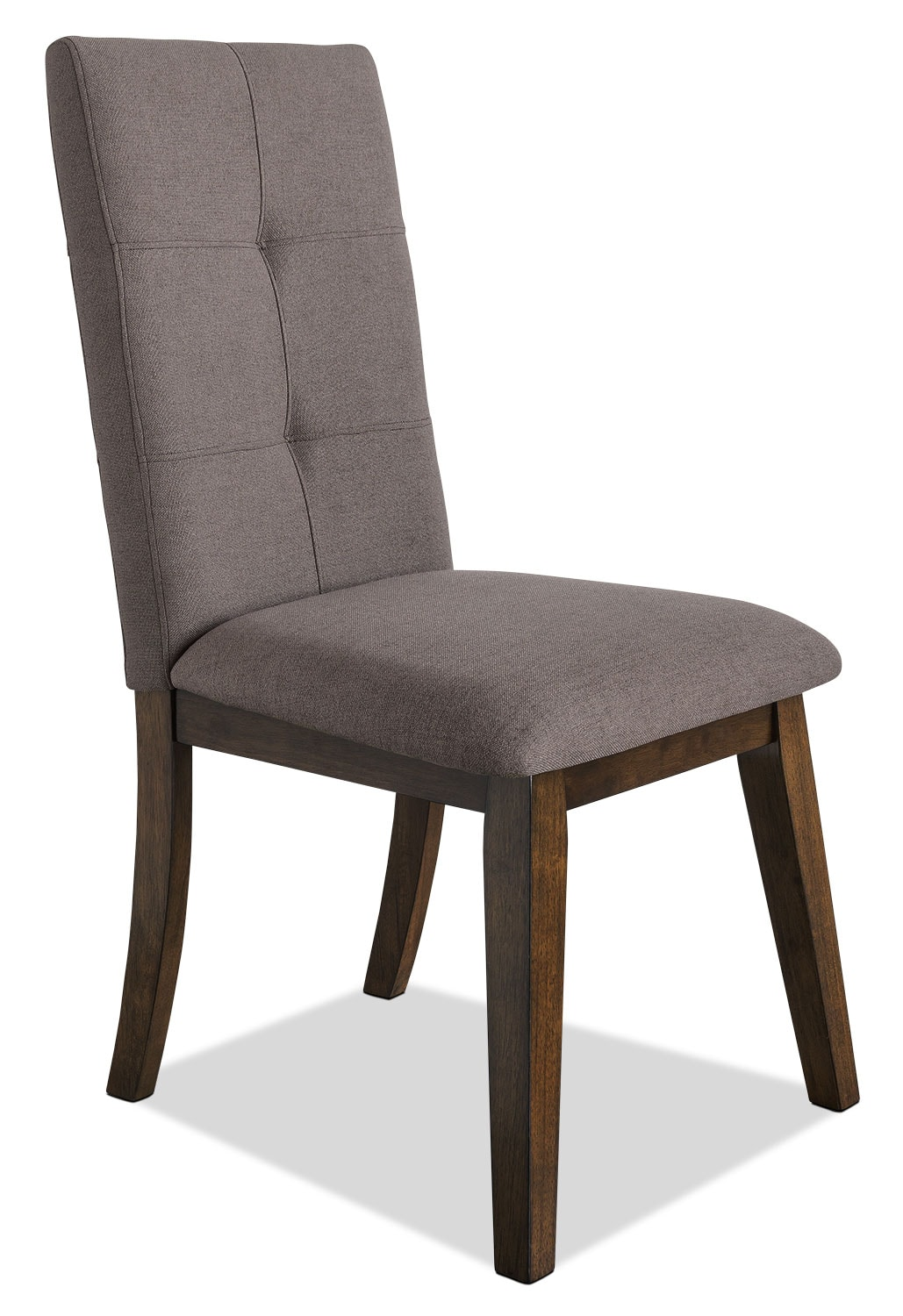 Dining Room Furniture - Chelsea Fabric Dining Chair – Brown
