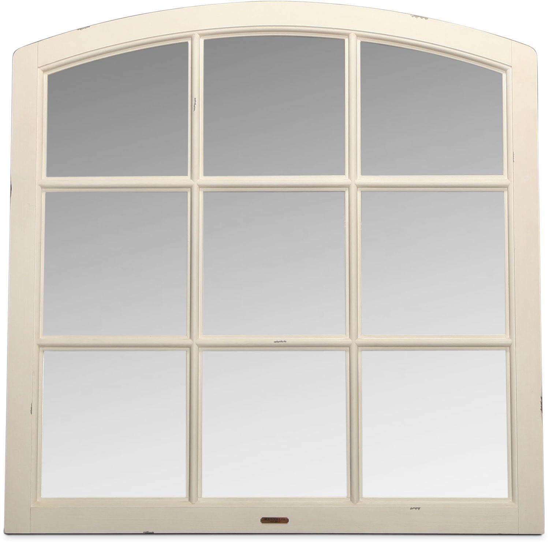 Magnolia Home Traditional Window Mirror