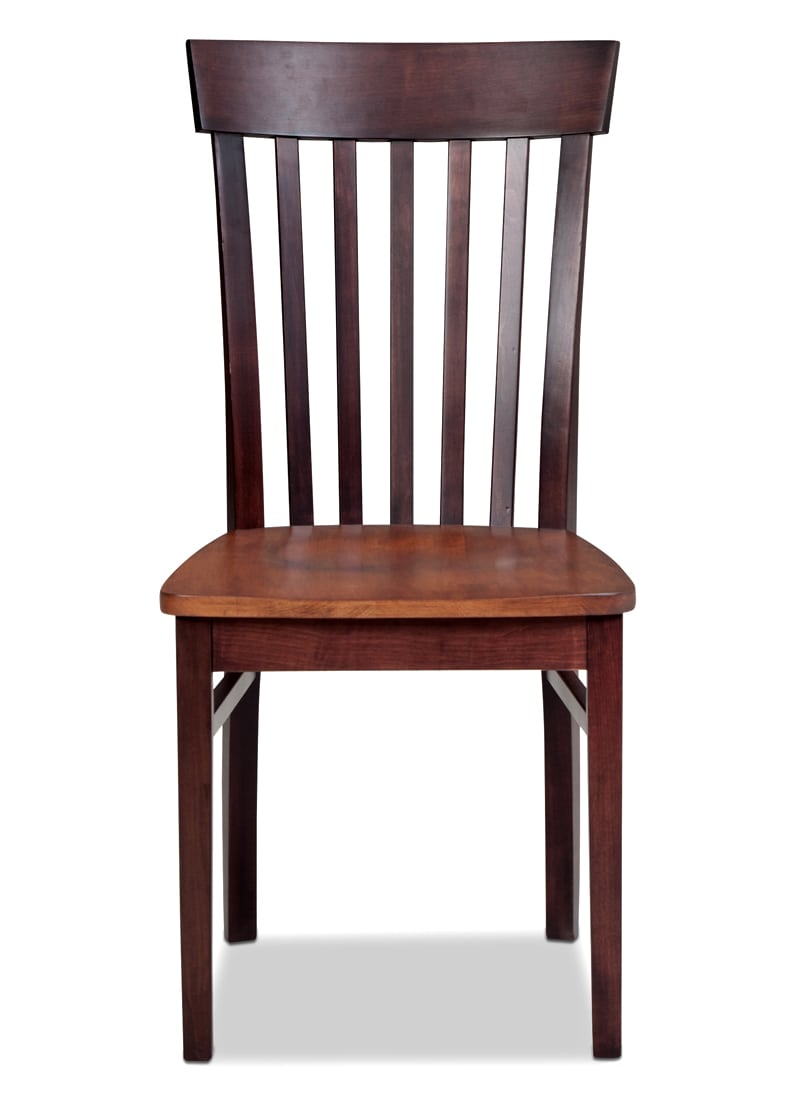 Dining Room Furniture - Anniversary Side Chair - Merlot