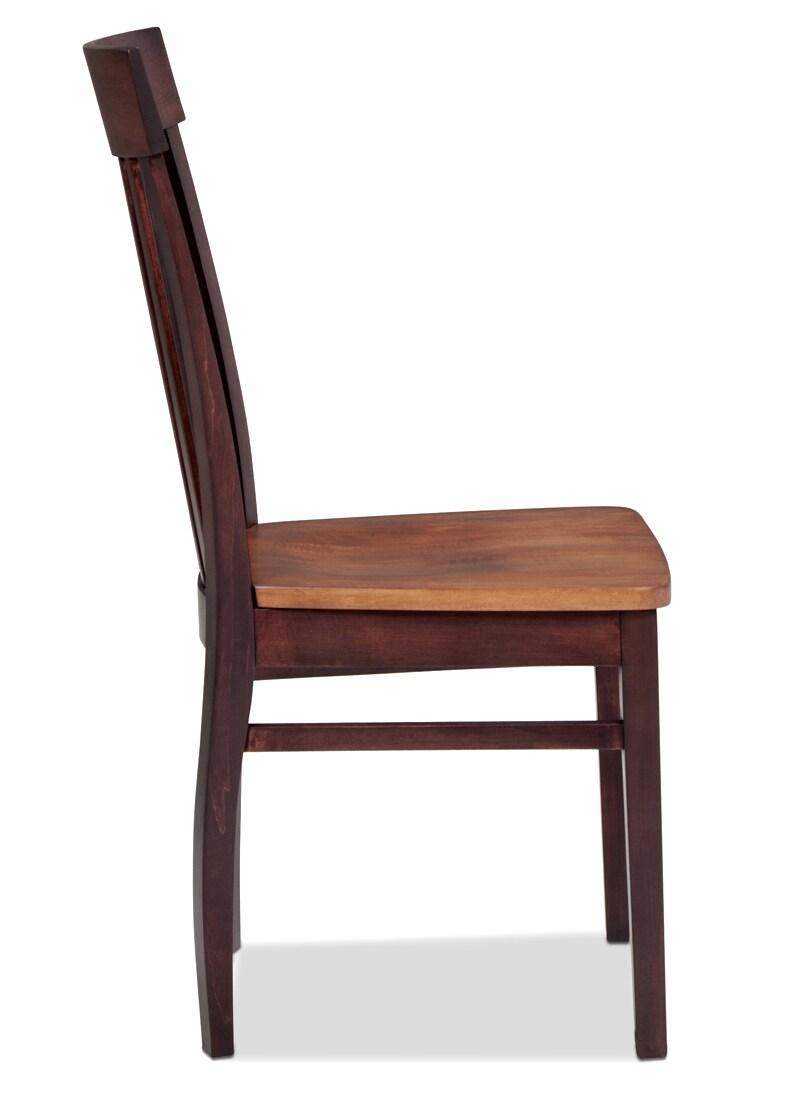 Anniversary Side Chair Merlot Levin Furniture