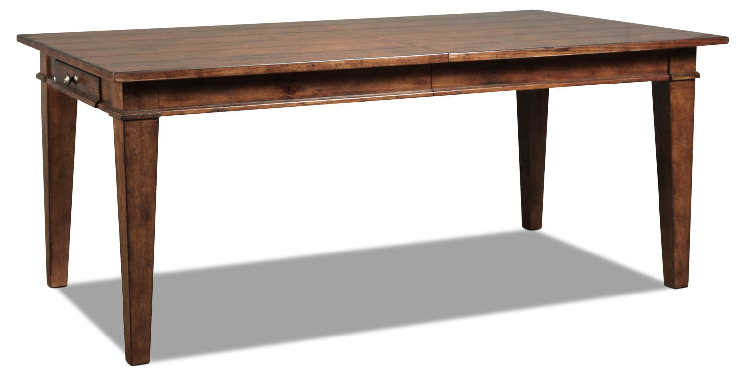 Elkmont Pine Table - Dark Umber