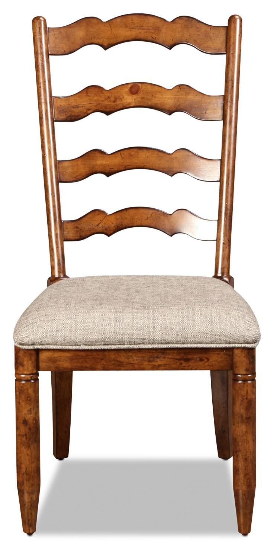 Elkmont Pine Side Chair - Dark Umber