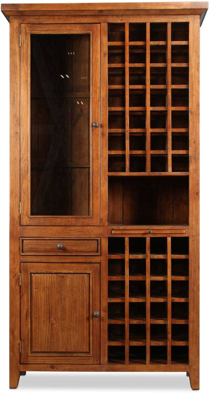 Tuscan Retreat Tall Wine Cabinet