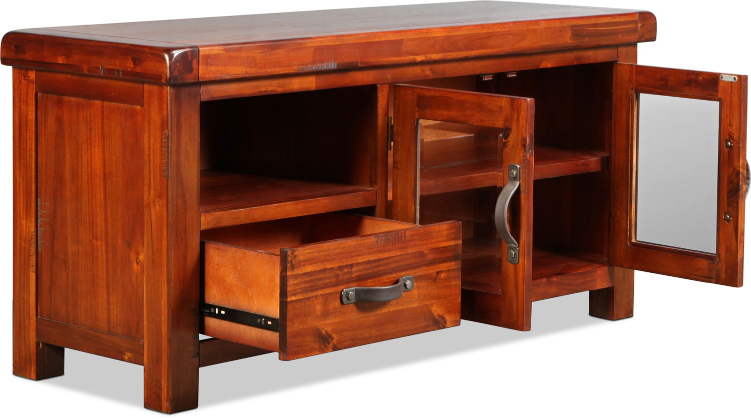 Brisbane 54 tv stand distressed chestnut levin furniture Cheap home office furniture brisbane