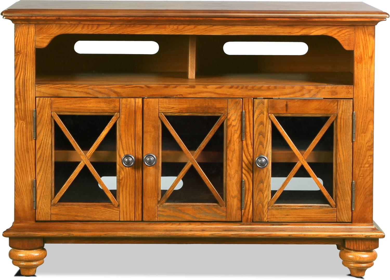 "Entertainment Furniture - Oxford 42"" TV Stand - Oak"