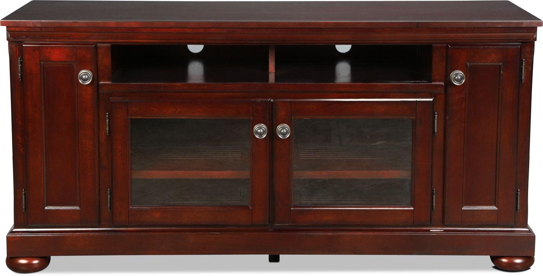 "Entertainment Furniture - Hamilton 60"" TV Stand - Cherry"