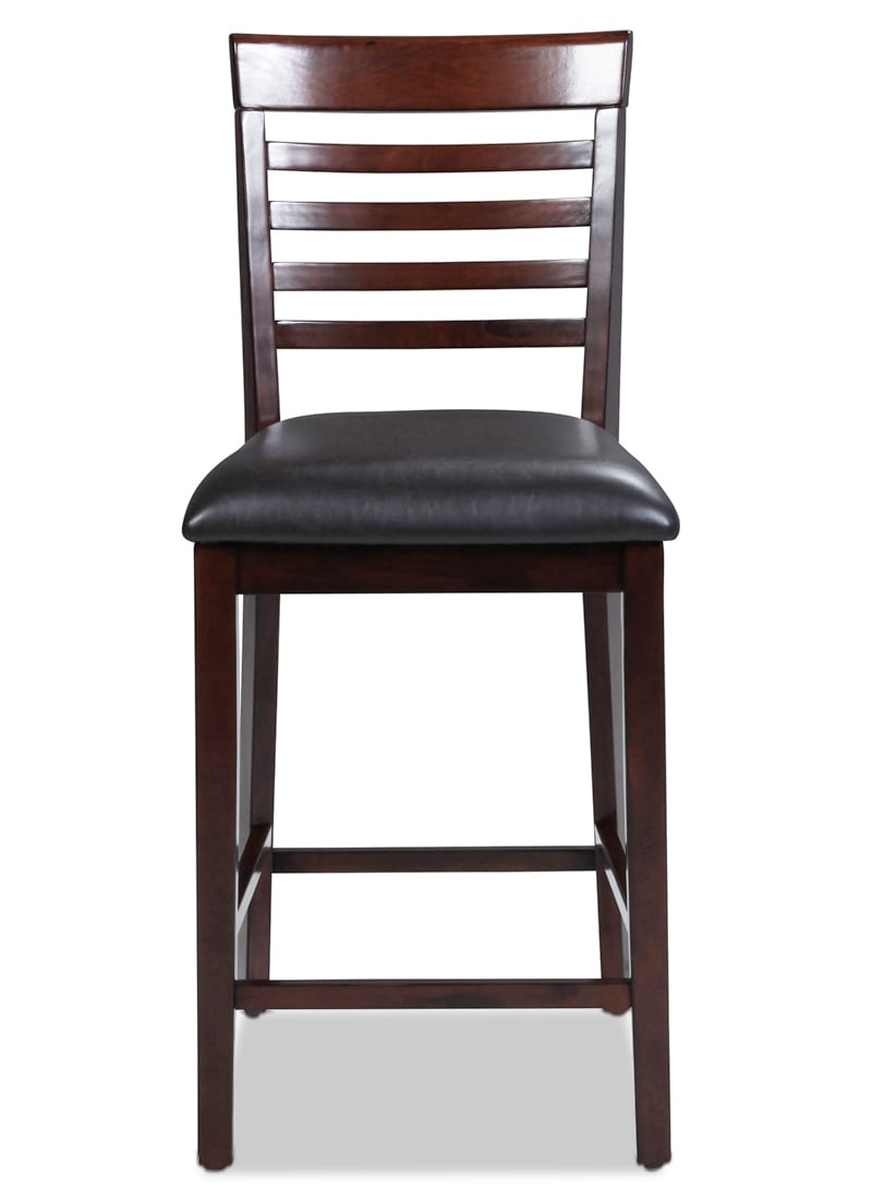 astoria counter height chair merlot levin furniture