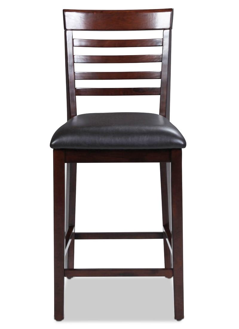 Astoria Counter-Height Chair - Merlot