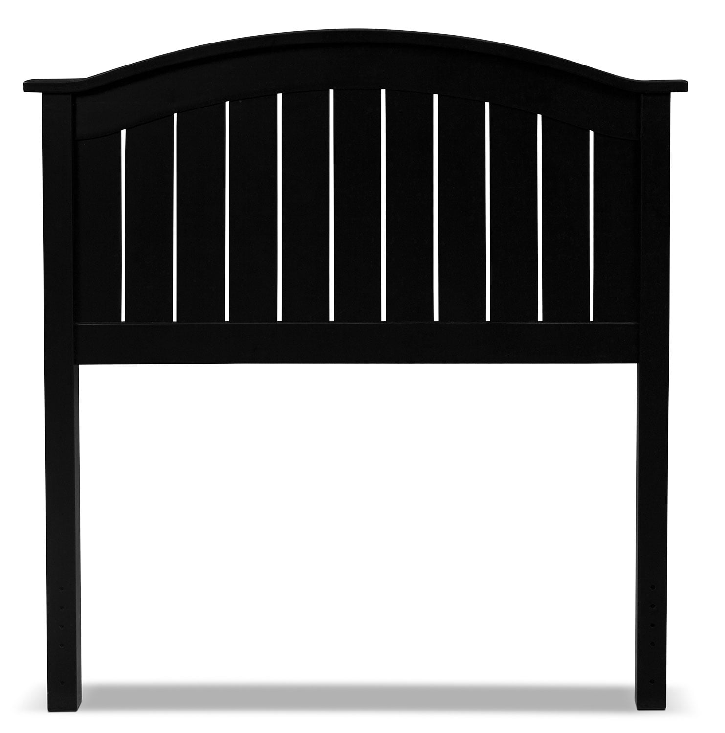 Finley Twin Headboard - Black