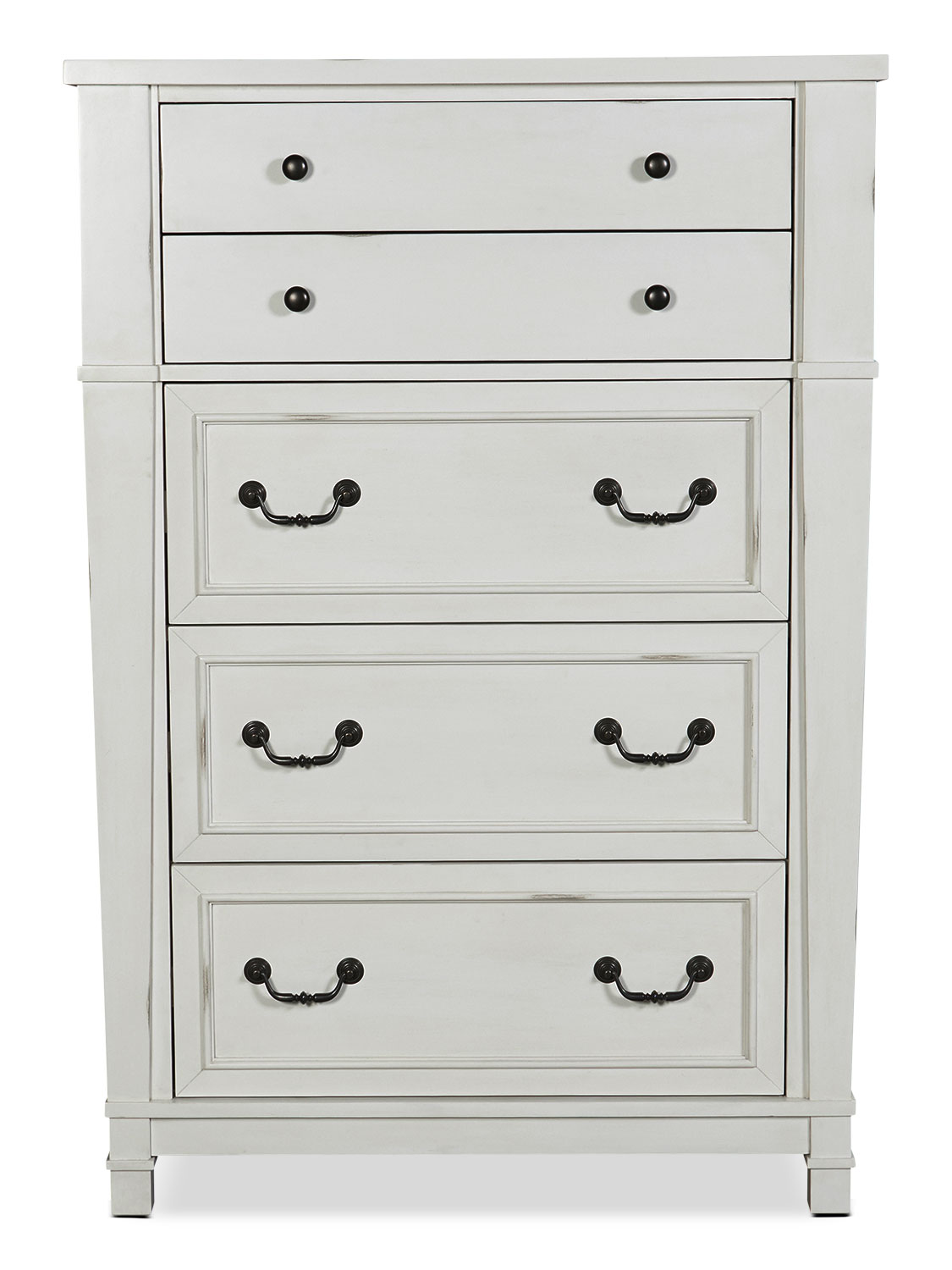 Bedroom Furniture - Taryn Chest - Antique White
