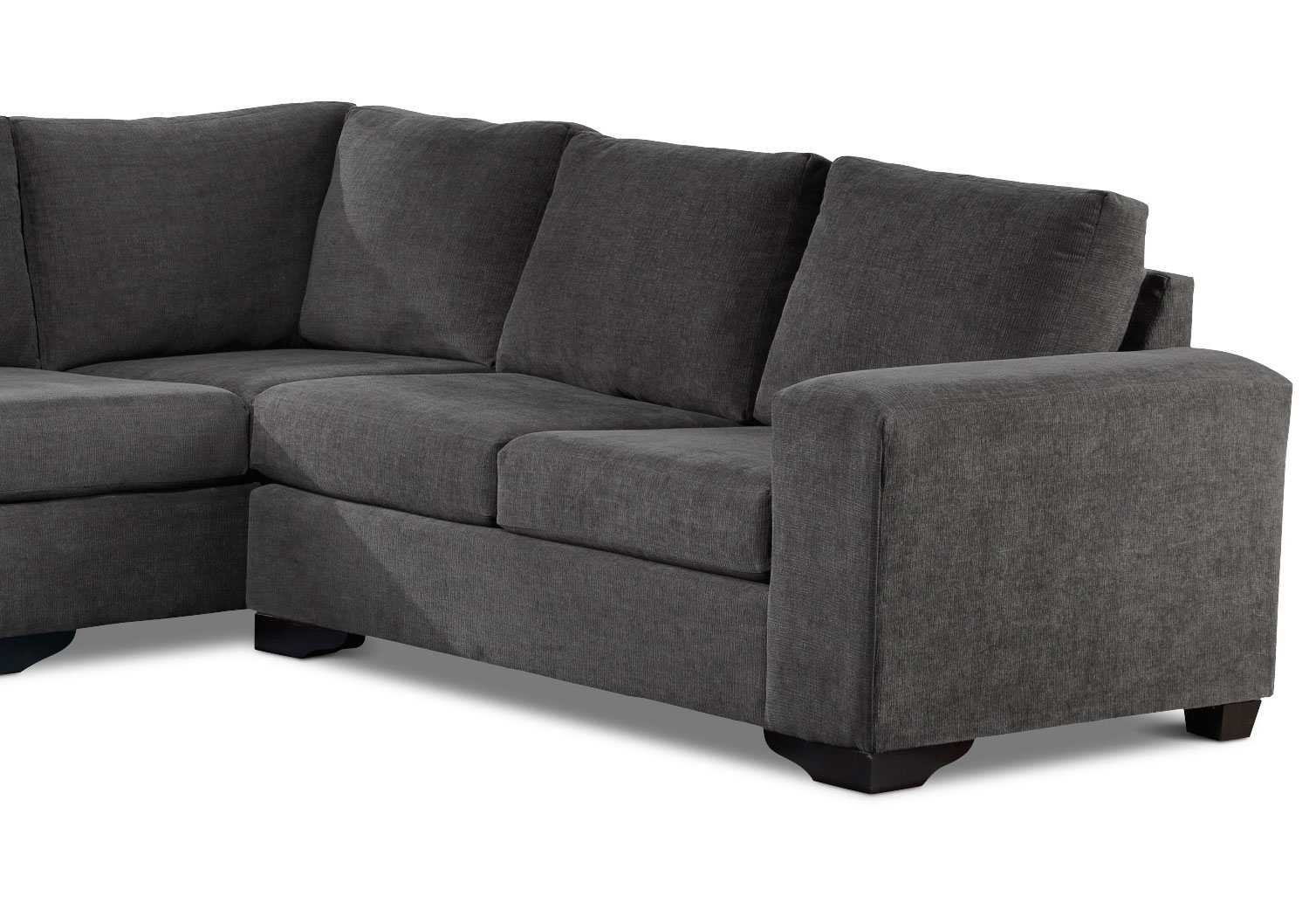 Danielle 3 Piece Sectional With Left Facing Corner Wedge