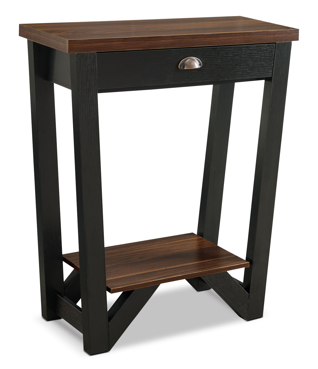 Arika Console Table – Black