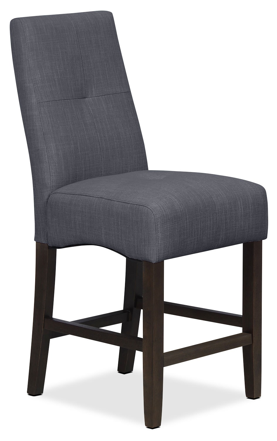 Soho Counter-Height Dining Chair – Charcoal