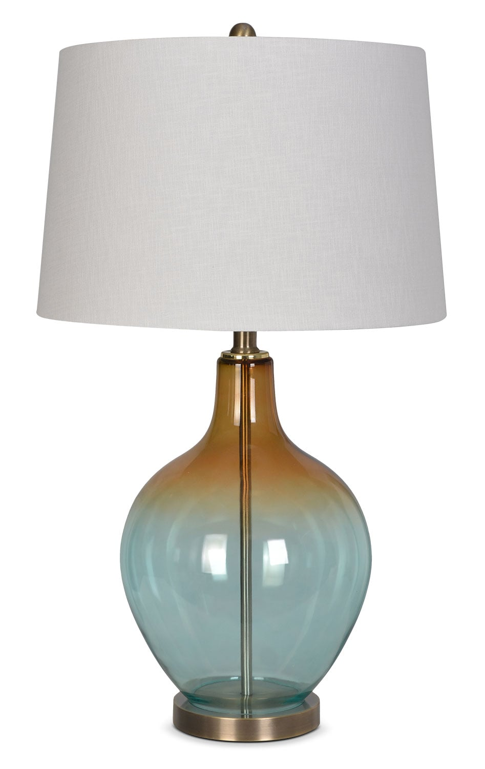 "Accent and Occasional Furniture - Daphne 28"" Table Lamp - Blue"