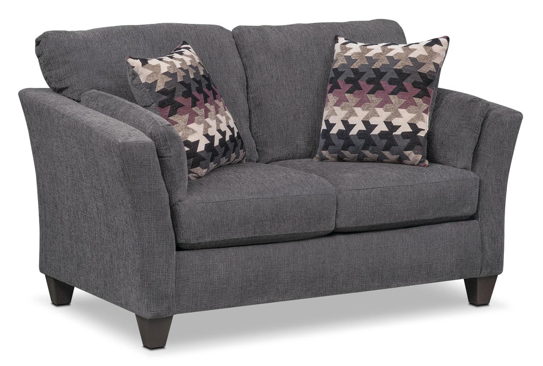 Juno Queen Memory Foam Sleeper Sofa Loveseat And Push