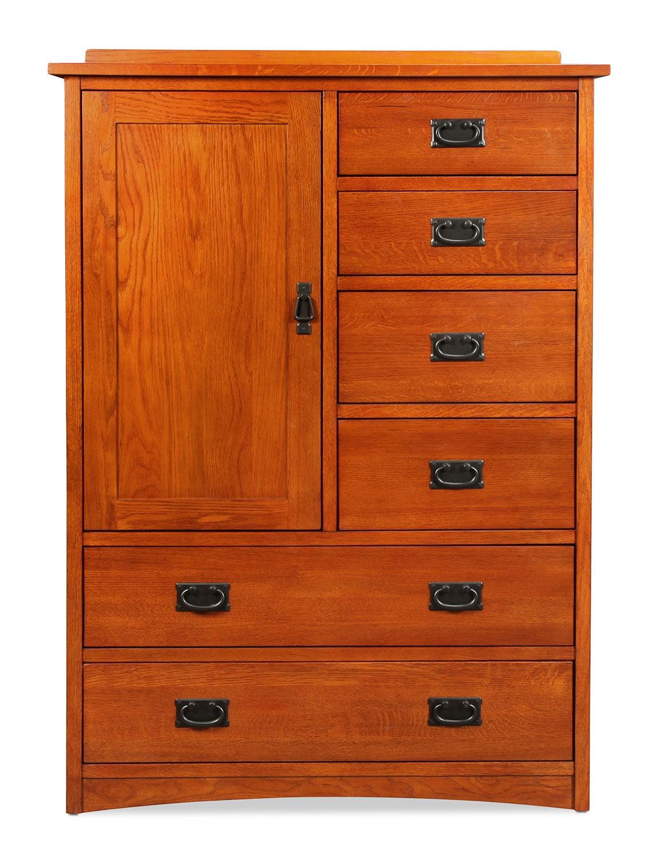 Highlands Door Chest - Oak