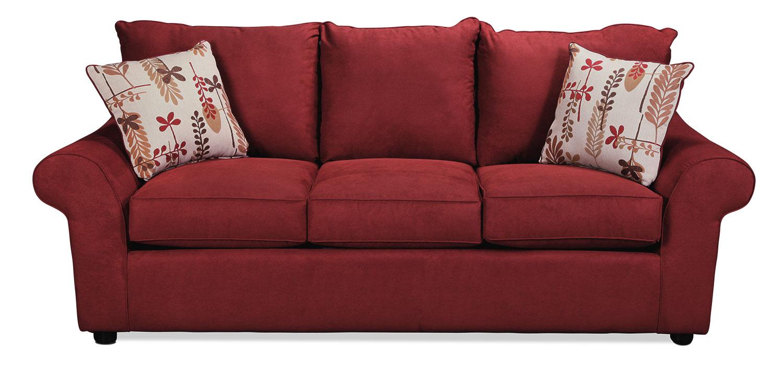 Zayner Queen Sleeper Sofa - Merlot