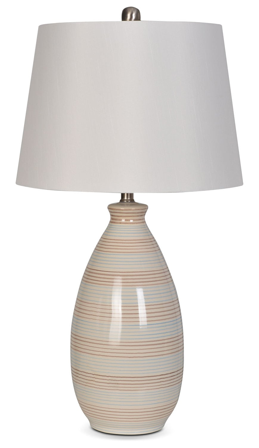 "Carly 26"" Table Lamp - Beige"