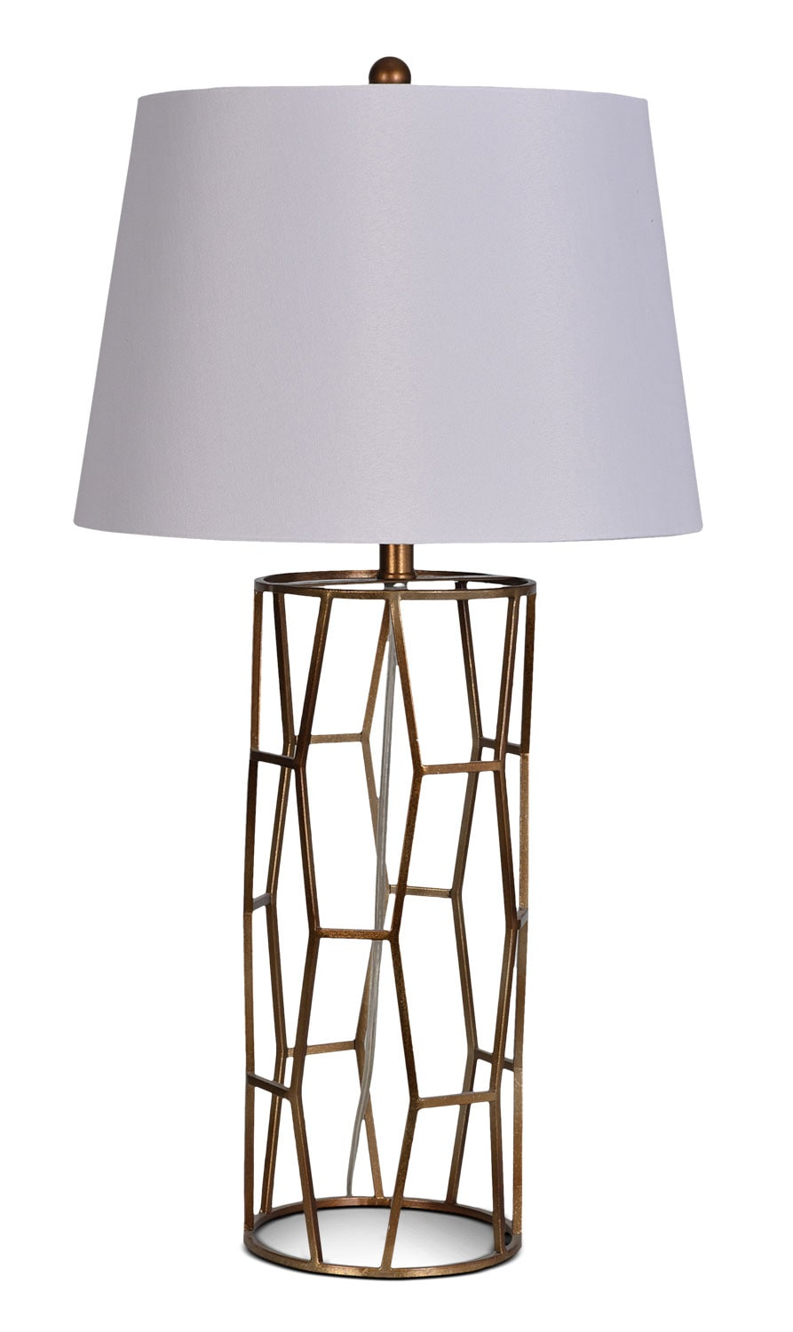 "Accent and Occasional Furniture - Julie 27.5""  Table Lamp - Bronze"
