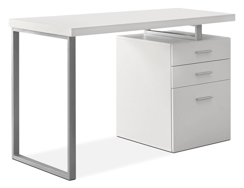 Home Office Furniture - Rimini Computer Desk – White