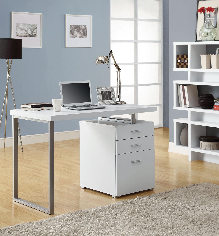 white corner office desk. white corner office desk