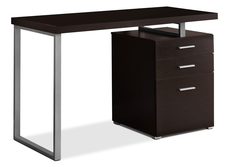 Rimini Computer Desk – Cappuccino