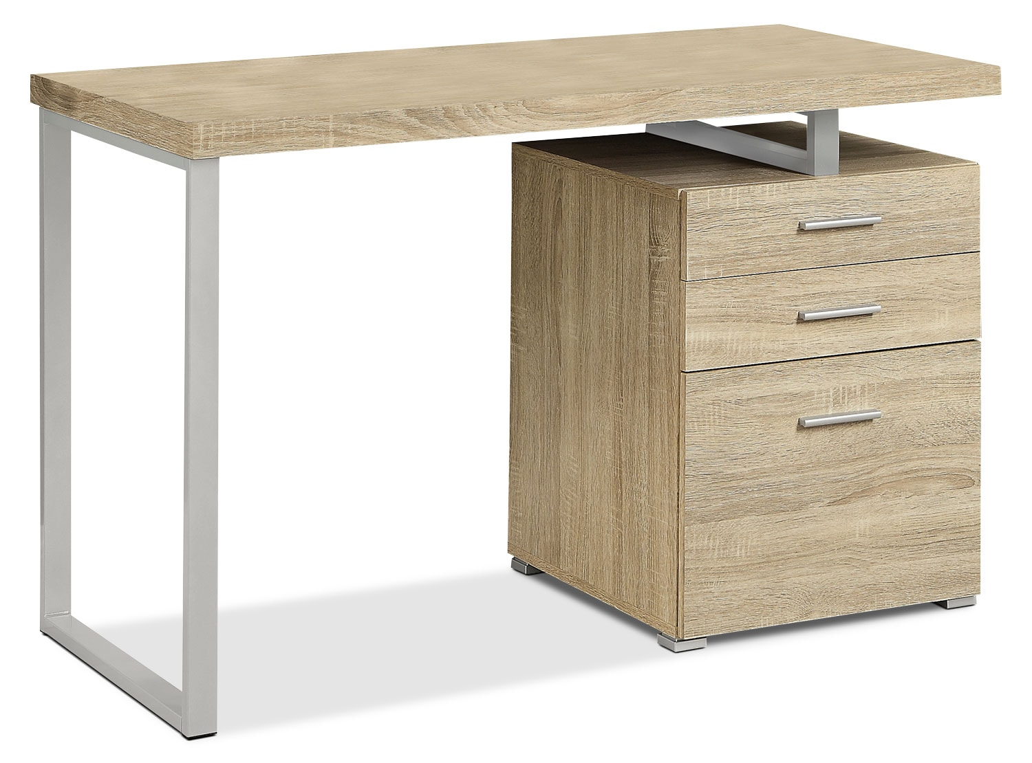 Home Office Furniture - Rimini Computer Desk – Natural