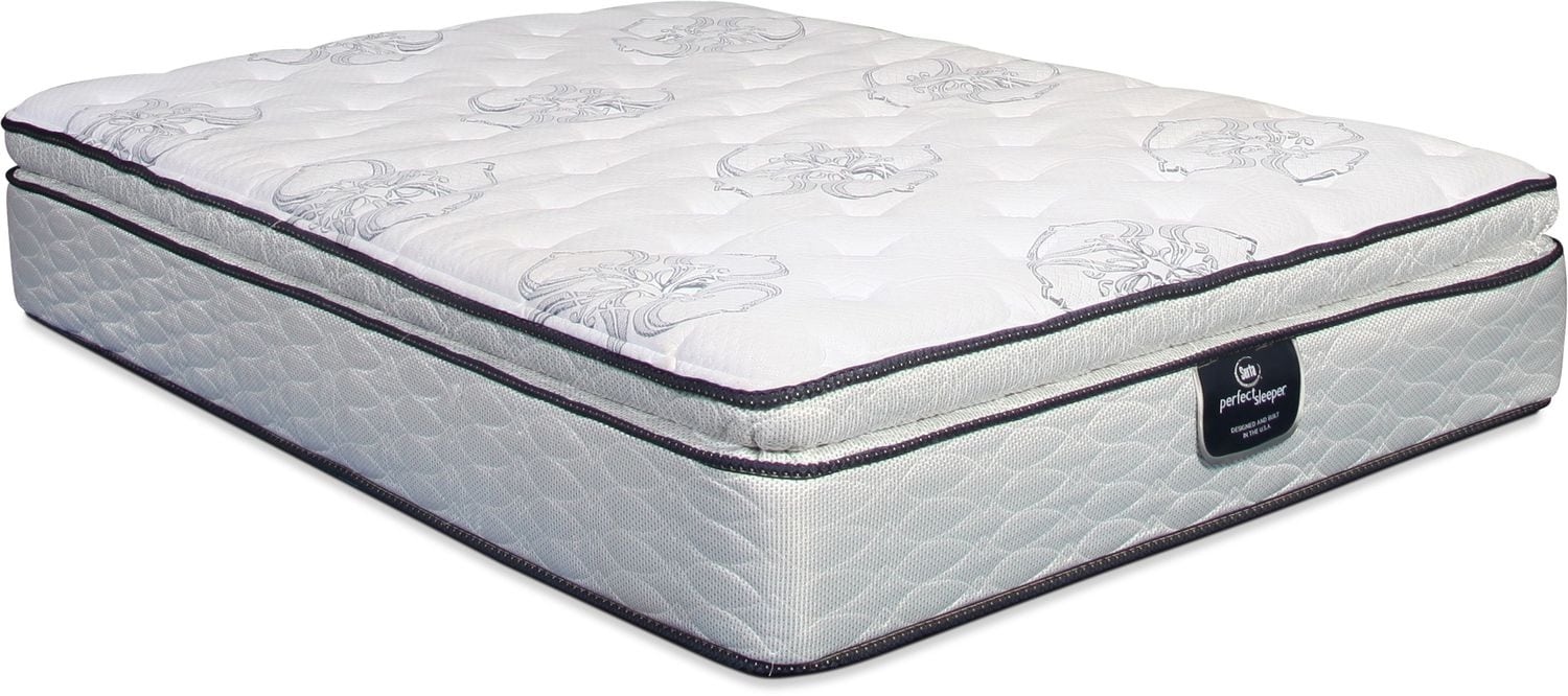 Serta Perfect Sleeper Super Pillowtop Queen Mattress