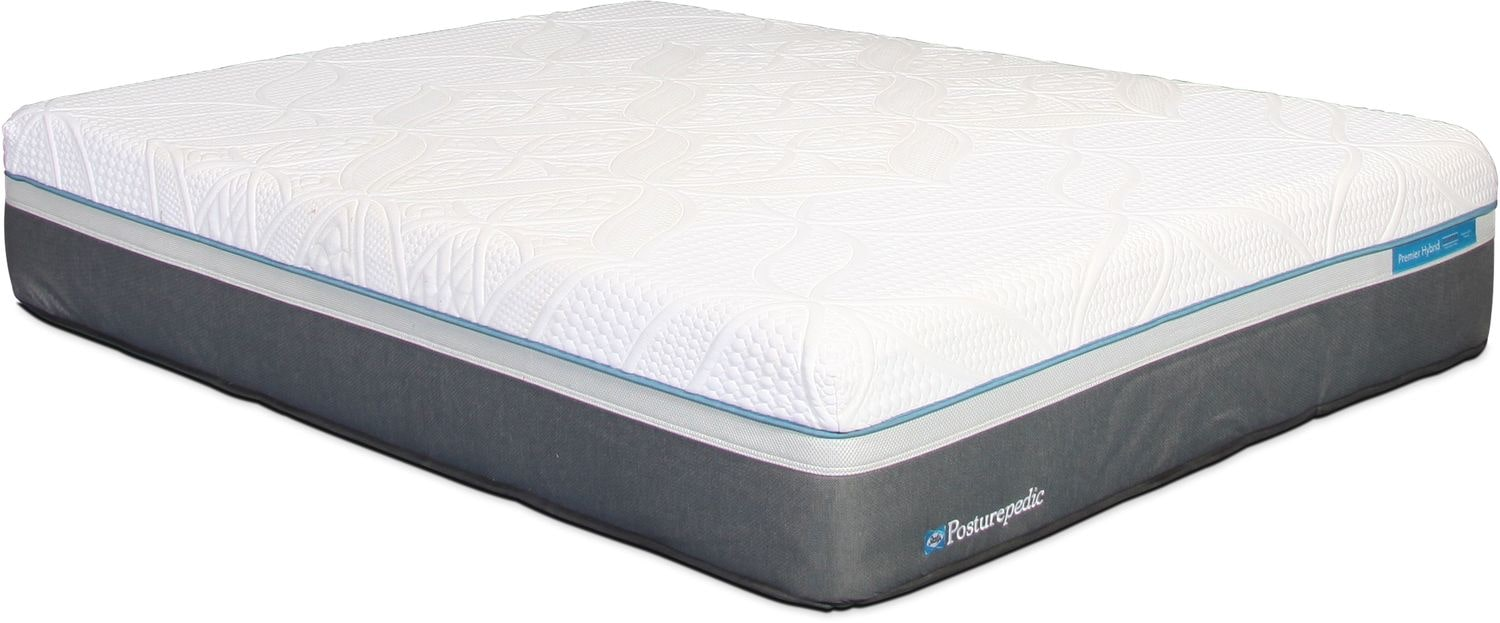 Mattresses and Bedding - Sealy Copper Hybrid King Cushion Firm Mattress