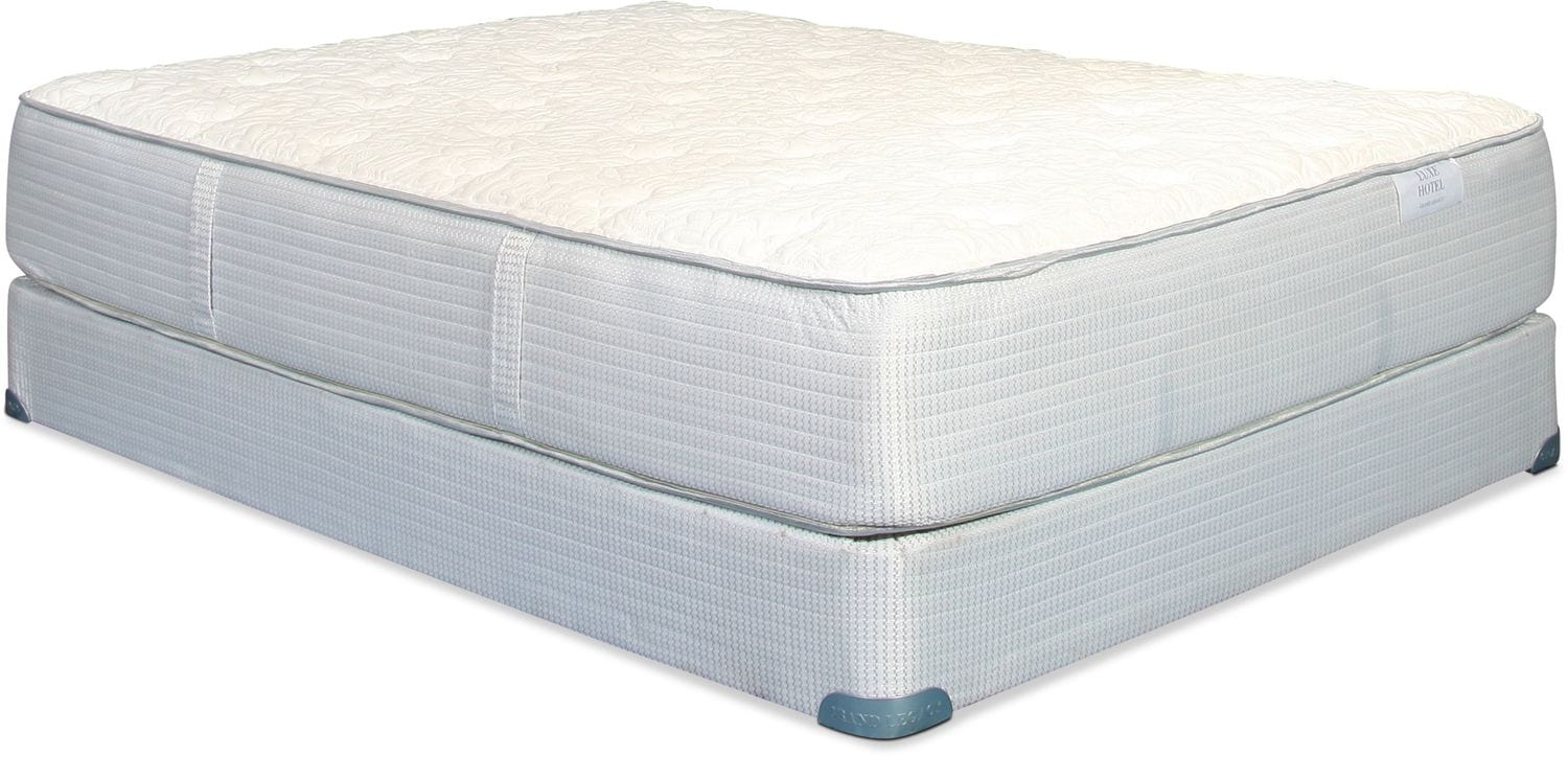 Mattresses and Bedding - Grand Legacy Luxe Hotel Cushion Firm California King Mattress and Split Boxspring Set