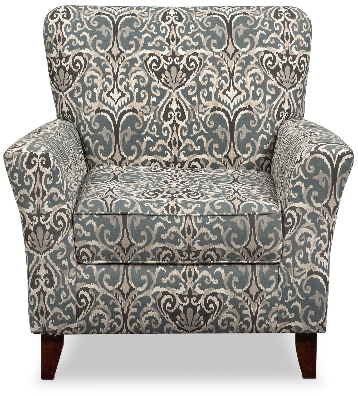 Carla Accent Chair Gray Value City Furniture