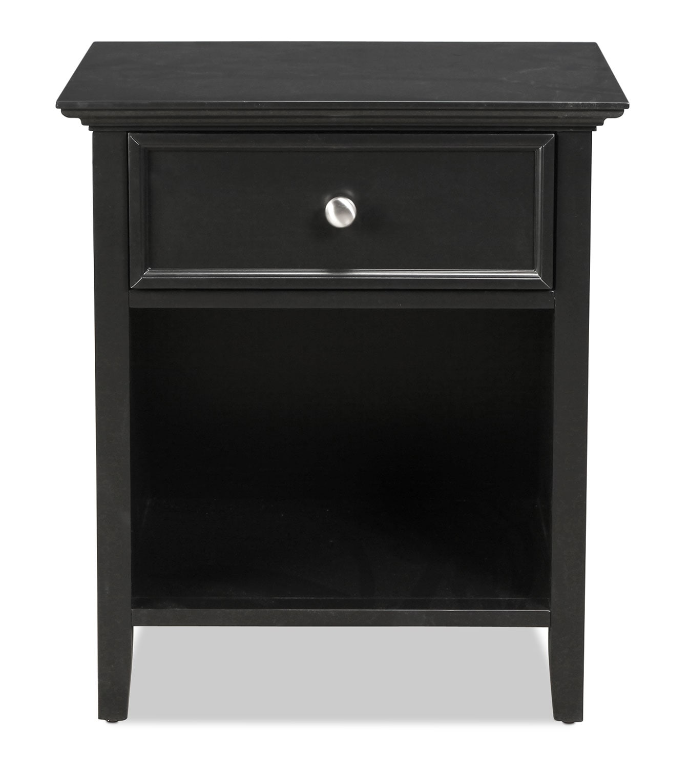 Bedroom Furniture - Ellsworth Nightstand - Black