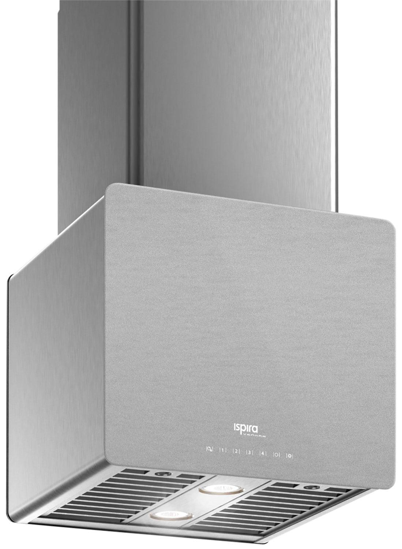 "Cooking Products - Venmar Ispira 16"" Island or Chimney Range Hood – Brushed Grey Panel IK70016SS"