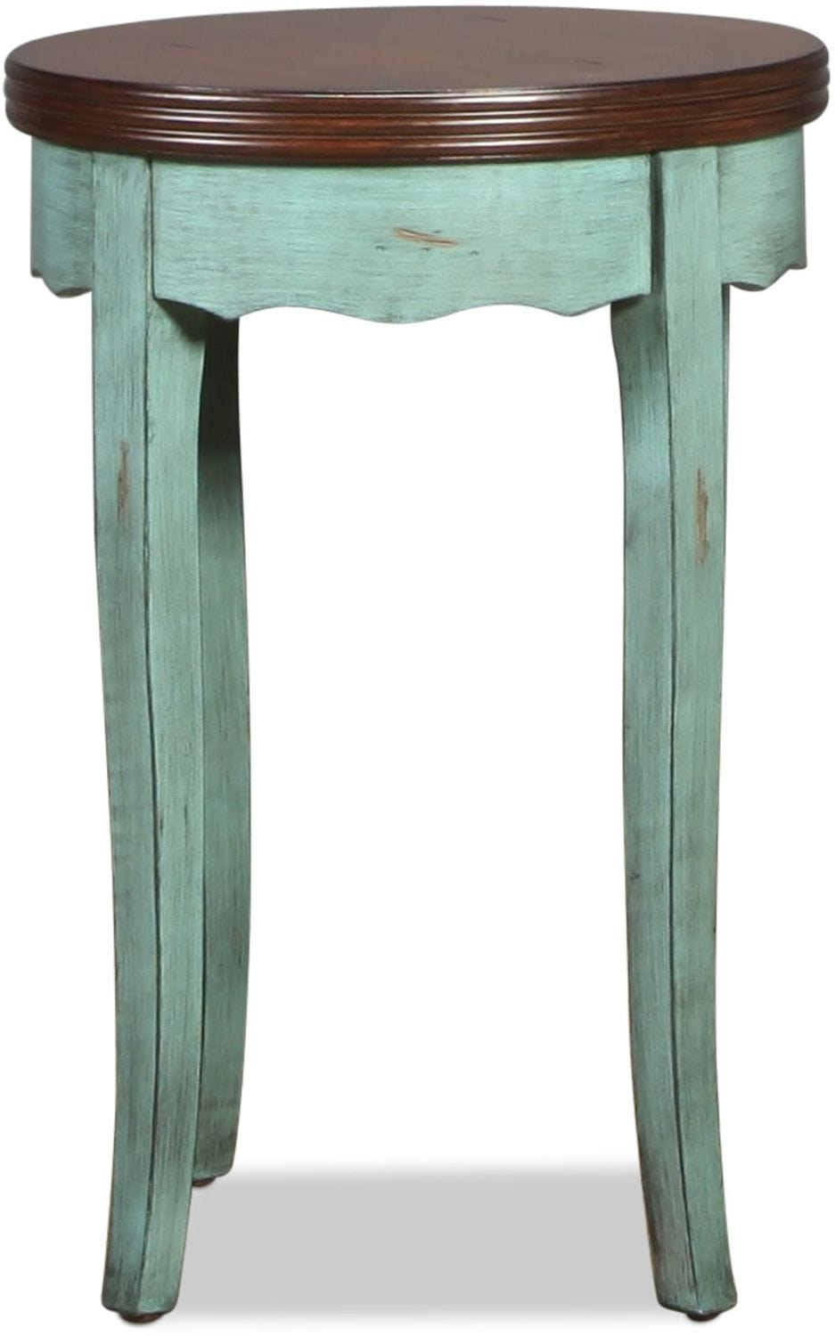 Shawna Accent Table - Moonstone Blue