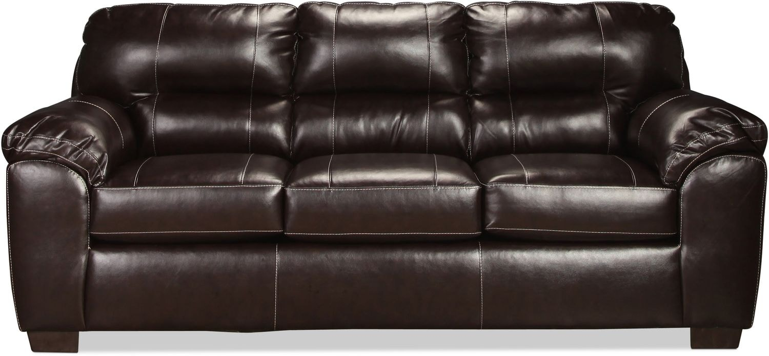 Rigley Queen Sleeper Sofa - Chocolate