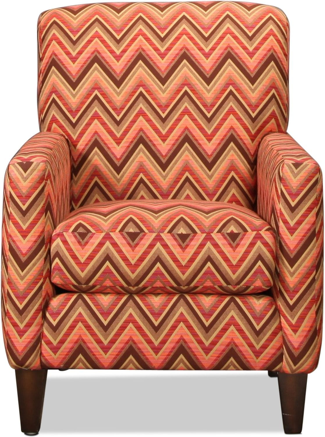 Sunbrella Accent Chair - Chevron