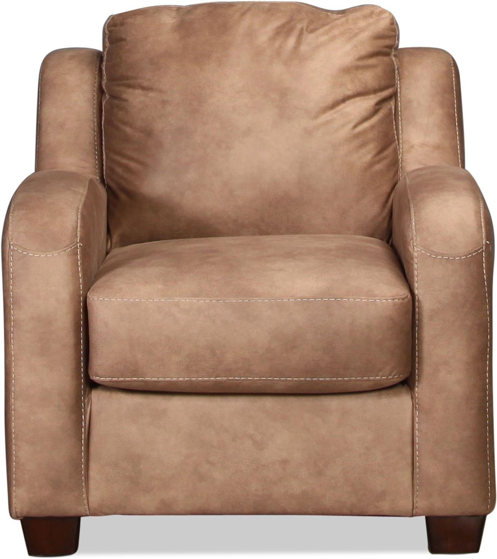 Living Room Furniture - Fresno Chair - Dune