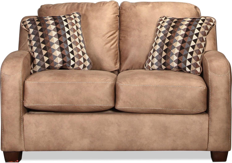 Living Room Furniture - Fresno Loveseat - Dune