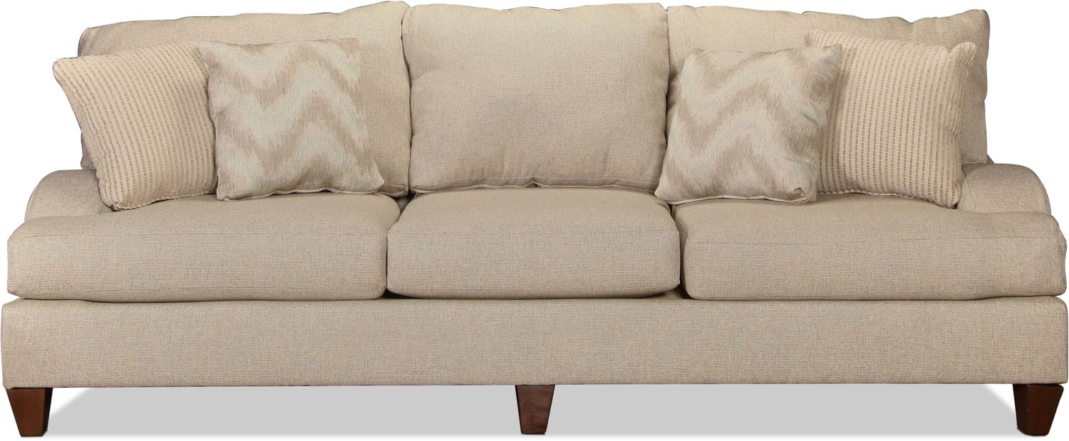 Long Beach Sofa - Flax