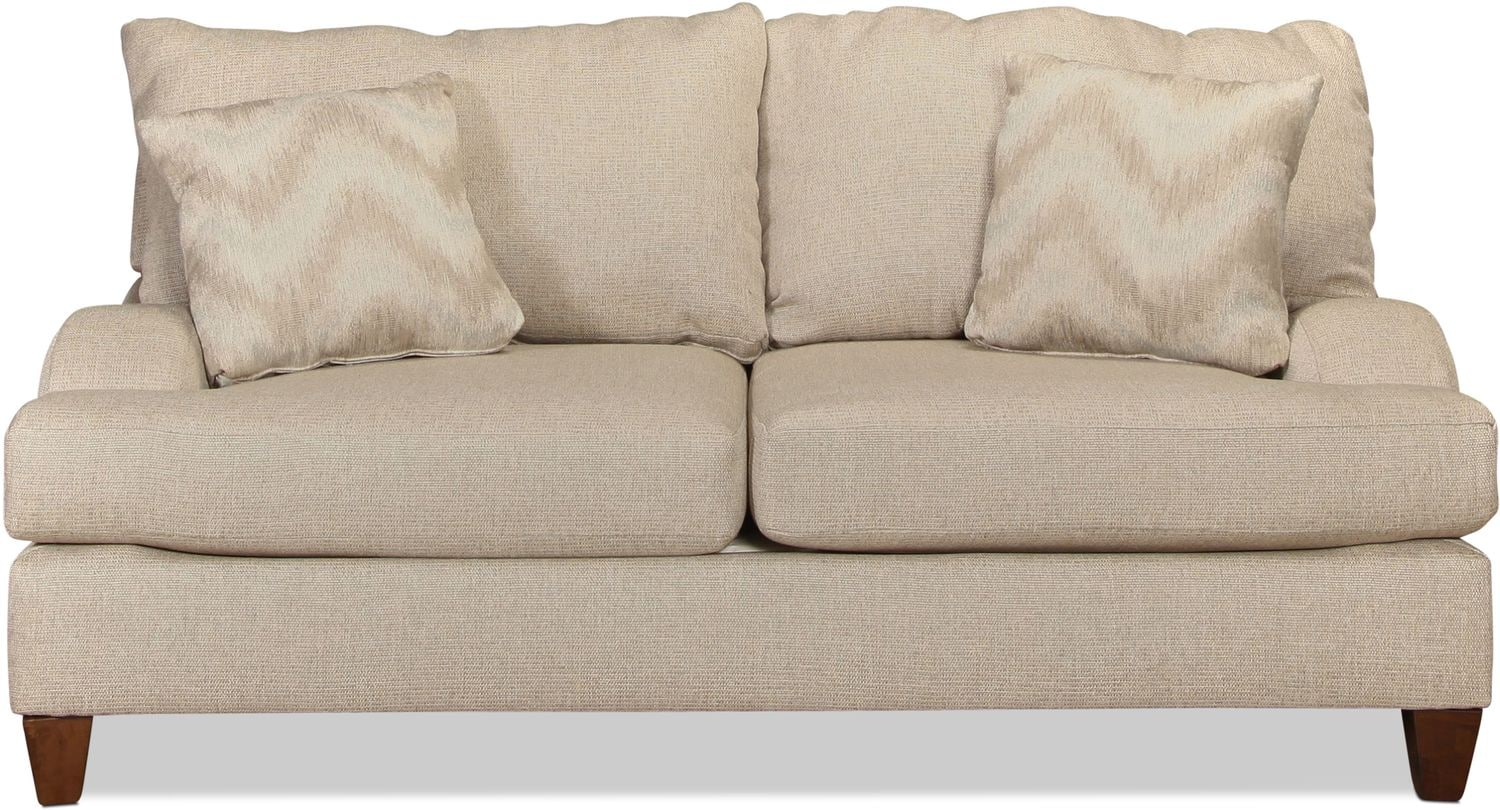 Long Beach Loveseat - Flax