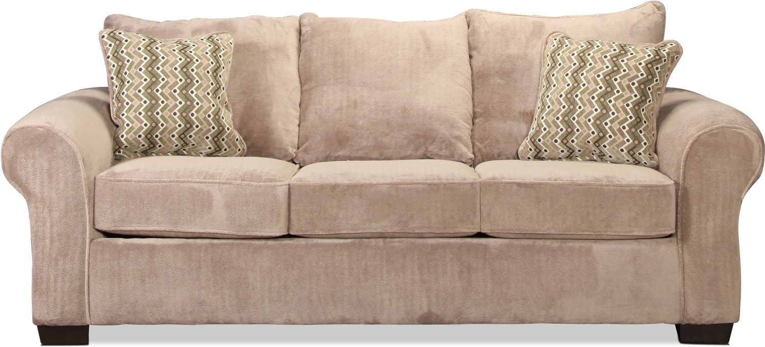 Oscar Queen Sleeper Sofa - Granite