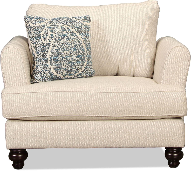 Living Room Furniture - Sawyer Chair - Stone