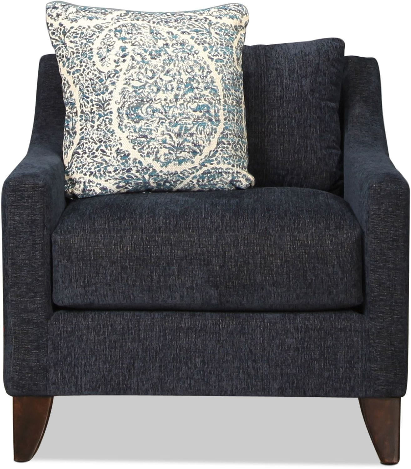 Sawyer Accent Chair - Indigo