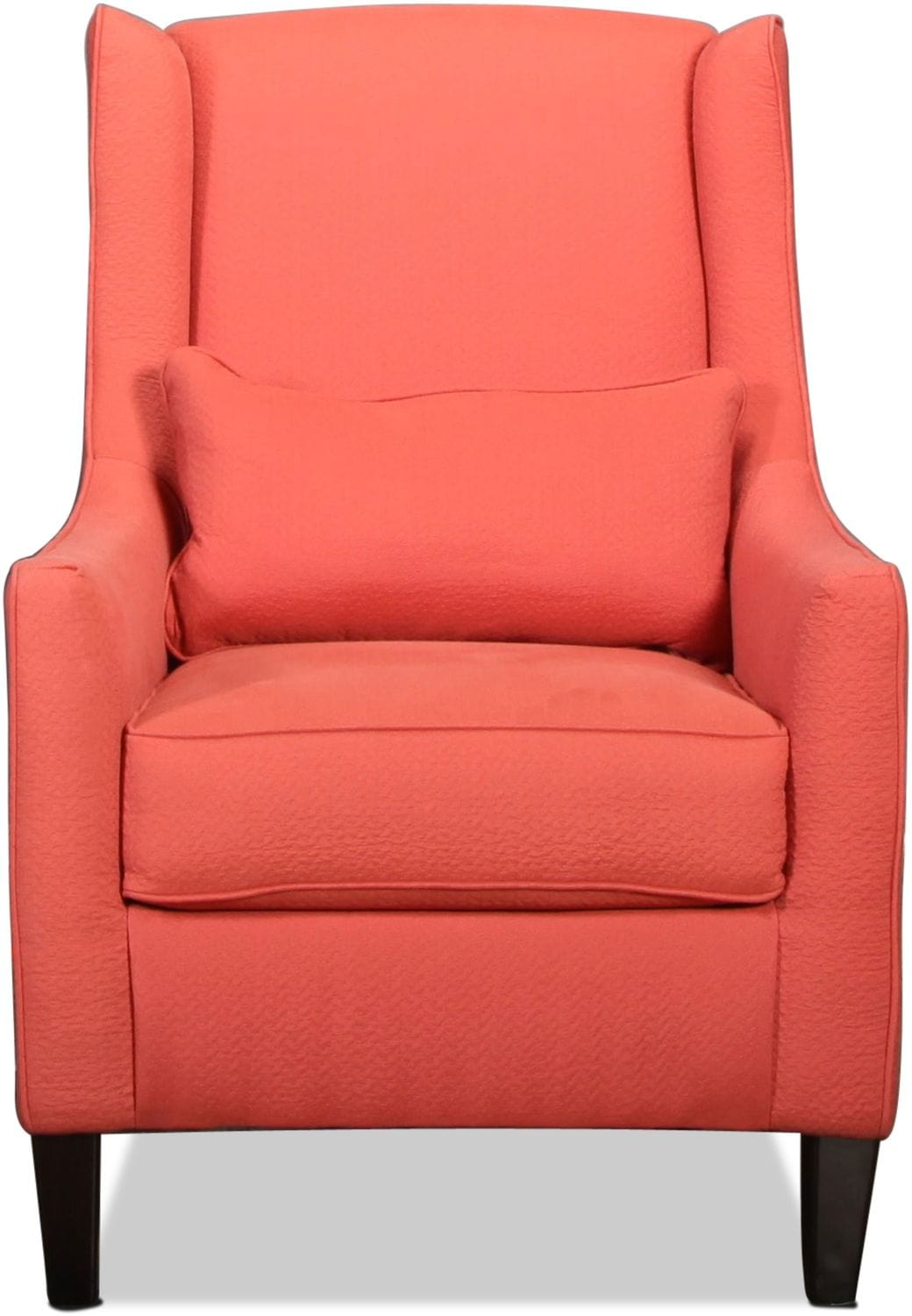 Peoria Accent Chair - Coral
