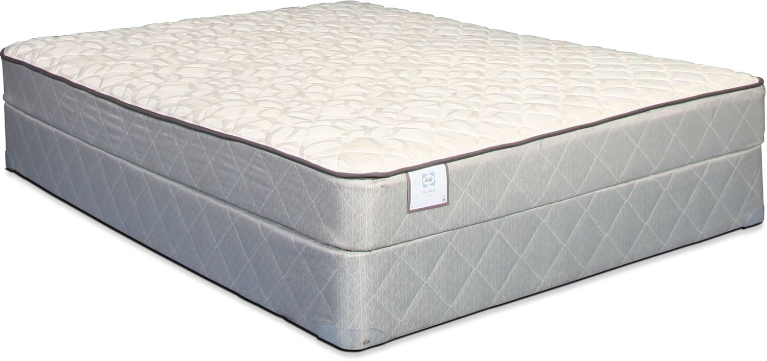 Sealy Sloane Firm Full Mattress and Boxspring Set