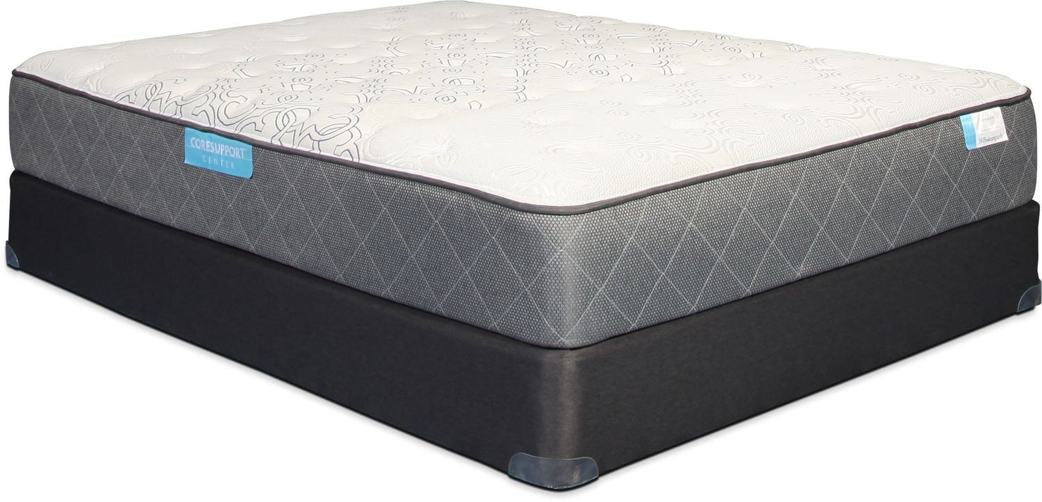 Sealy Generate Cushion Firm King Mattress and Split Boxspring Set