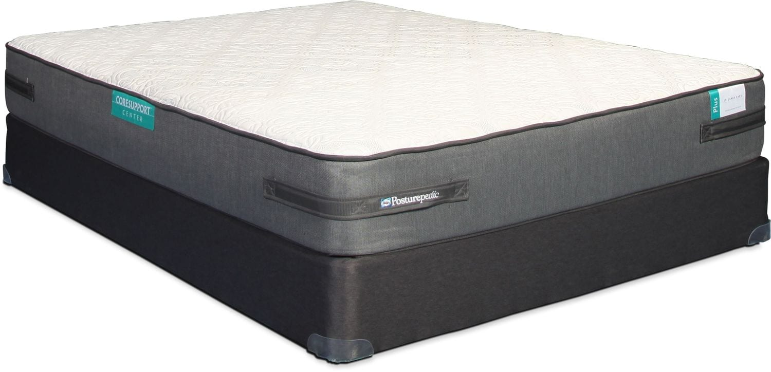 Sealy St. James Park Ultra Firm Queen Mattress and Boxspring