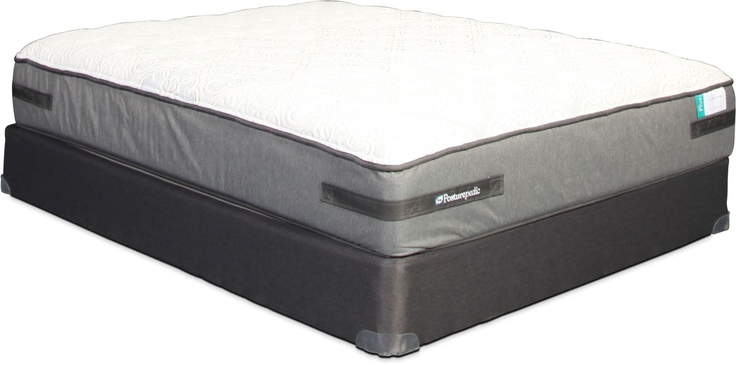 Sealy St. James Park Cushion Firm Queen Mattress and Boxspring